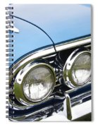 1960 Chevrolet Impala Front End Spiral Notebook