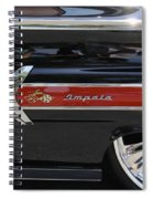 1960 Chevy Impala Spiral Notebook