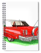 1960 Edsel Ranger Continental Kit Spiral Notebook