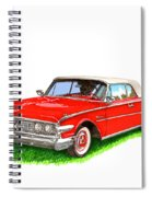1960 Edsel Ranger Convertible Spiral Notebook