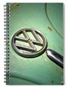 1961 Green Vw Spiral Notebook