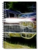 1962 Caddy Cadillac Spiral Notebook
