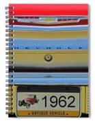 1962 Chevy Impala Ss Spiral Notebook