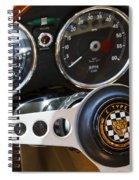 1962 Jaguar Spiral Notebook