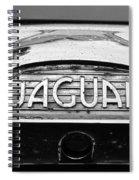 1963 Jaguar Back Up Light Spiral Notebook
