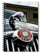 1963 Jaguar Mkii Fantasy Car Spiral Notebook