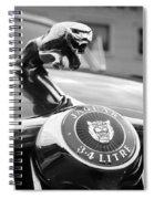 1963 Jaguar Mkii  Spiral Notebook