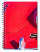 1963 Red Porsche Spiral Notebook