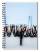 1964 Chrysler Emblem  Spiral Notebook