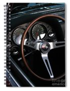 1965 Corvette Roadster Dash Spiral Notebook