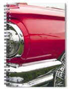1965 Ford Thunderbird Front End Spiral Notebook