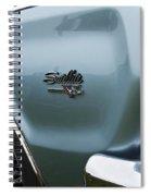 1966 Plymouth Satellite Commando V8 Spiral Notebook