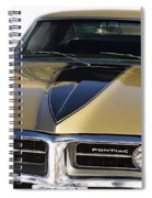 1967 Bronze Pontiac Firebird  Spiral Notebook