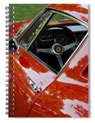 1967 Ferrari 275 Gtb4 Coupe Spiral Notebook