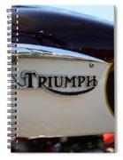 1967 Triumph Bonneville Gas Tank 1 Spiral Notebook