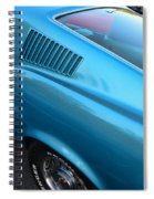 1968 Ford Mustang Fastback  Profile Spiral Notebook