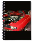1969 Z-28 Crossram With 9737 Copo Option Spiral Notebook