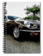 1973 Jaguar Type E Fantasy  Spiral Notebook