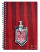 1988 Monte Carlo Ss Crest And Shield Emblem Spiral Notebook