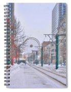 1st Real Snow Golddome 2012 Spiral Notebook