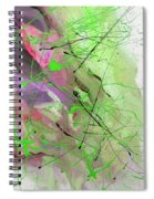 1st Symphony Of The Voyage Of The Stars  Spiral Notebook