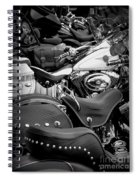 2 - Harley Davidson Series Spiral Notebook
