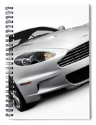 2009 Aston Martin Dbs Spiral Notebook