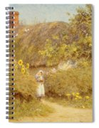 A Surrey Cottage Spiral Notebook