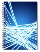 Abstract Of Weaving Line Spiral Notebook