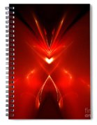 Abstract Sixty-one Spiral Notebook