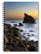 Adraga Beach Spiral Notebook