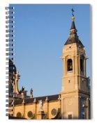 Almudena Cathedral In Madrid Spiral Notebook
