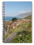 Along Big Sur Spiral Notebook
