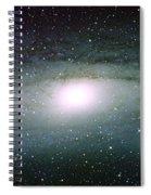 Andromeda Galaxy Spiral Notebook