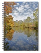 Autumn Colors On The Delaware And Raritan Canal Spiral Notebook