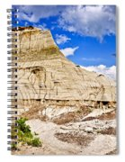 Badlands In Alberta Spiral Notebook