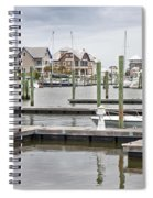 Bald Head Island Marina  Spiral Notebook