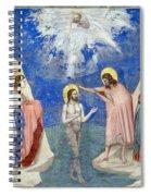 Baptism Of Christ Spiral Notebook