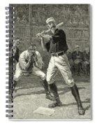 Baseball, 1888 Spiral Notebook