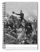 Battle Of Spotsylvania Spiral Notebook