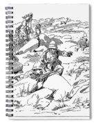 Boer War, 1899 Spiral Notebook