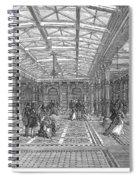 Brighton Aquarium, 1872 Spiral Notebook