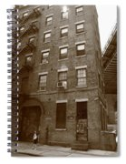 Brooklyn New York - 126 Front Street Spiral Notebook