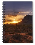 By Dawn's Early Light Spiral Notebook