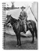 Calamity Jane (c1852-1903) Spiral Notebook
