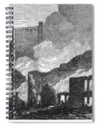 Chicago: Fire, 1871 Spiral Notebook