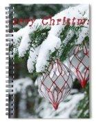 Christmas Card 2194 Spiral Notebook