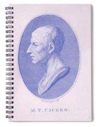 Cicero, Roman Philosopher Spiral Notebook