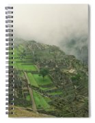 City In The Sky Spiral Notebook
