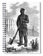 Civil War: Black Troops Spiral Notebook